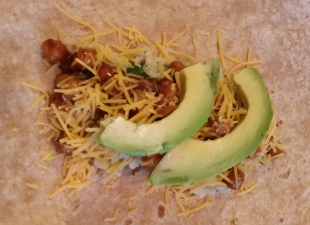 Barbecue Chickpea Burrito - Eat-In with YiaYia