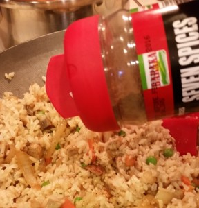 Vegan Fried Rice - Eat-in With YiaYia