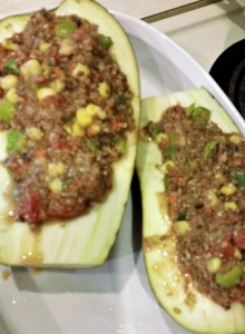 Stuffed Eggplant - Eat-in With YiaYia