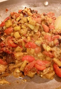 Eggplant Ragout - Eat-in With YiaYia