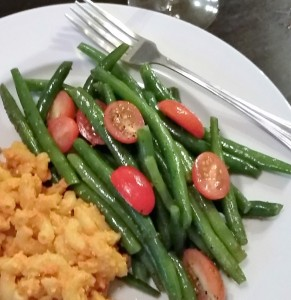 Green Bean Salad - Eat-in With YiaYia